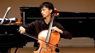 2016 Tzu-Shao Chao Cello Recital(3)~Schumann, Cello Concerto in A minor Op.129