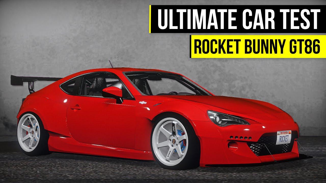 gta 5 ultimate car test rocket bunny toyota gt86 youtube. Black Bedroom Furniture Sets. Home Design Ideas