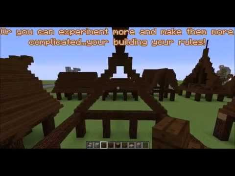 Minecraft Roof Types And Ideas Youtube