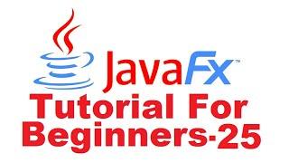JavaFx Tutorial For Beginners 25 - JavaFX WebView