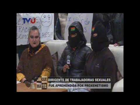 Maria Galindo denuncia a la representante de las proxenetas en El Alto Lily Cortez