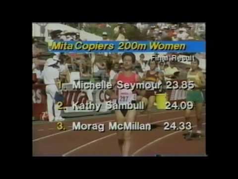 1991 North Shore Bays Womens 200m New Zealand