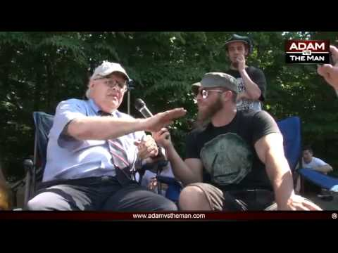 Ron Paul Controlled Opposition ? ∞ (2/3) Adam Kokesh vs Webster Tarpley Occupy Bilderberg