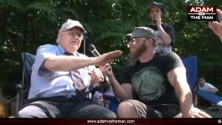 Ron Paul Controlled Opposition ? ∞ (2/3) Adam Kokesh vs Webster Tarpley Occupy Bilderberg