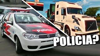Acidente sem POLICIA - Euro Truck Simulador 2