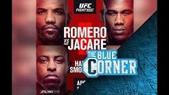 UFC on ESPN 3 Jacare vs Hermansson