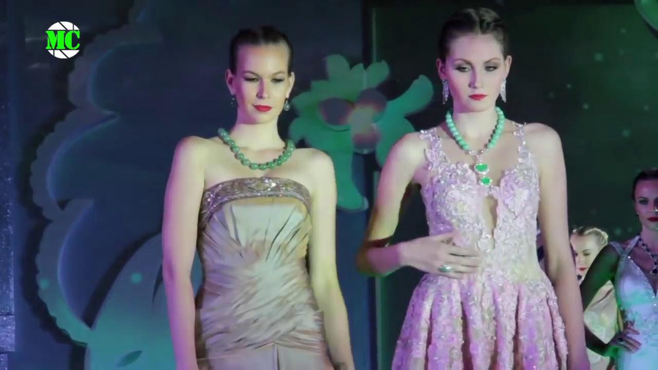 Wai gems jewellery st anniversary fashion show in yangon youtube