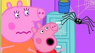 Свинка Пеппа на русском все серии подряд 🕸️ Паутина 🕸️ Мультики
