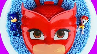 Learn Characters with Owlette, Pj Masks, Paw Patrol, Peppa Pig and Superheroes for Kids and Children
