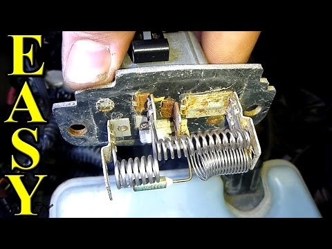 How to replace a Blower Motor Resistor