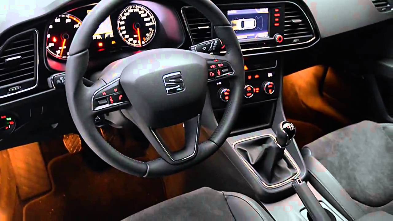 seat leon st 12tsi style bus vol opties youtube