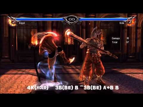 Soul Calibur 5: Algol Combo Video