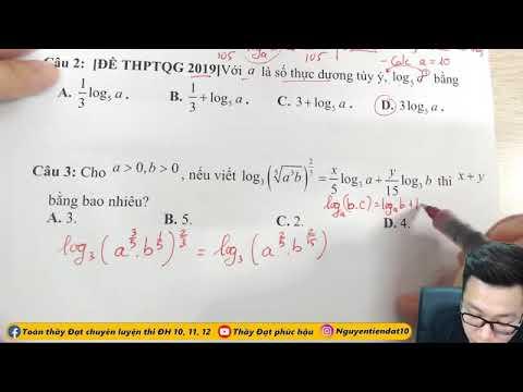 [2k2]: Giải PT , Bất PT Mũ Và Logarit | Toán 12 | Thầy Nguyễn Tiến Đạt