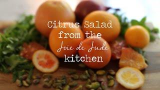 Winter Citrus Salad Recipe