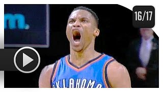 Russell Westbrook UNREAL Highlights vs Grizzlies (2017.04.05) - 45 Pts, 10 Ast, 9 Reb, CLUTCH!