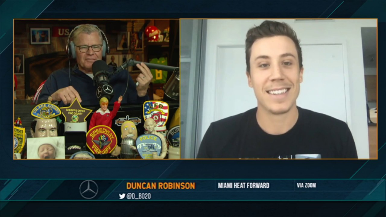 Duncan Robinson on the Dan Patrick Show (Full Interview) 07/02/20