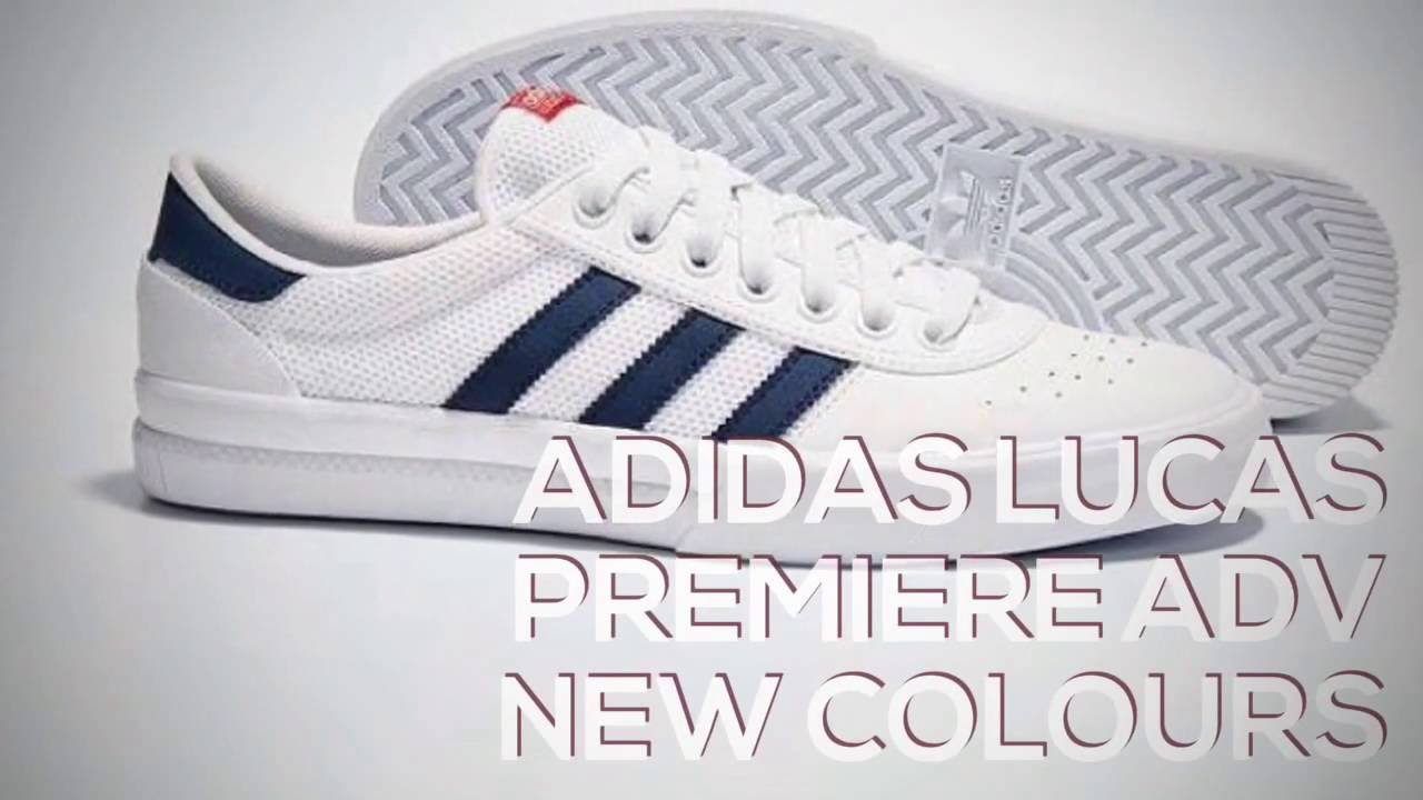 ADIDAS LUCAS PREMIERE ADV NEW COLOURS   PEACE X9 - YouTube d5304145b