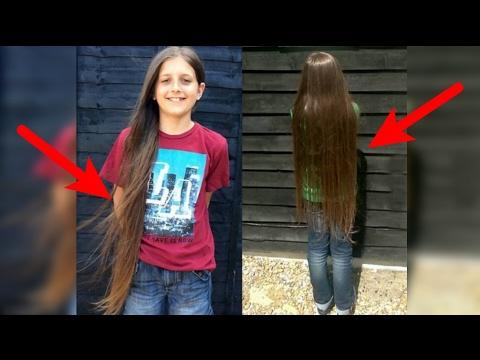 """Dibalik keindahan rambut panjang anak ini, ternyata menyimpan """"suatu alasan"""" yang mengagumkan"""
