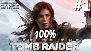 Zagrajmy w Rise of the Tomb Raider (100%) odc. 1 - Nowa przygoda Lary Croft