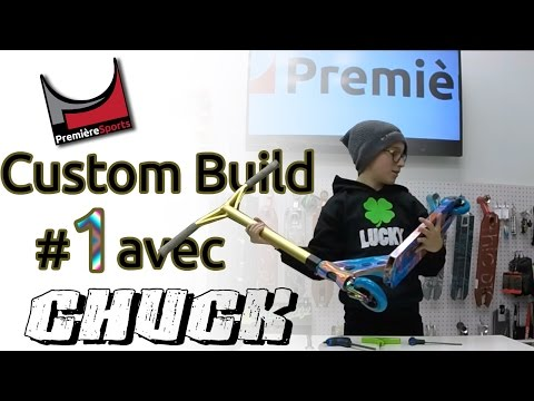 Premiere Sports - Chuck B - Custom Scooter Build