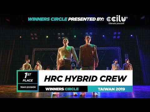 HRC Hybrid Crew  1st Place Team  Winners Circle  World of Dance Taiwan Qualifier 2019  WODTWN19