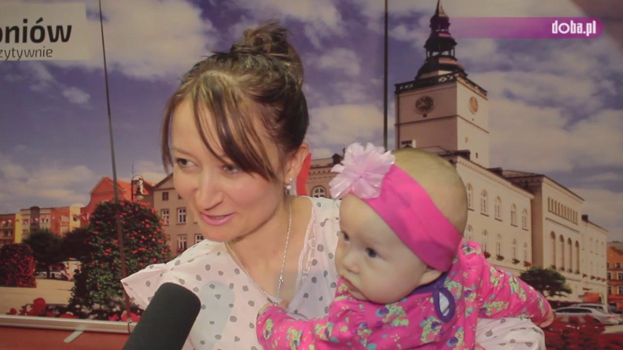 Najmłodsi mieszkańcy u burmistrza Dzierżoniowa