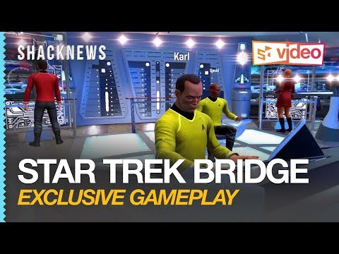 Exclusive Star Trek Bridge Crew VR Gameplay