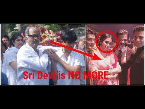 Last pictures of Sri Devi