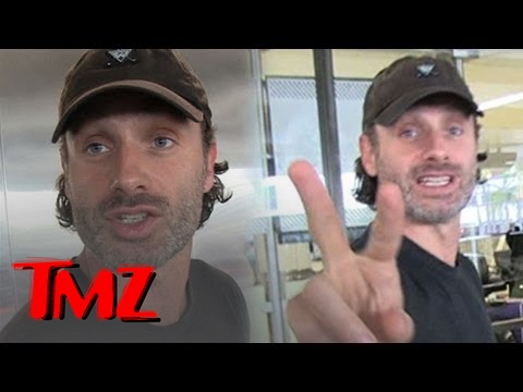 """The Walking Dead"" star Andrew Lincoln -- Is the Zombie Apocalypse Imminent?"