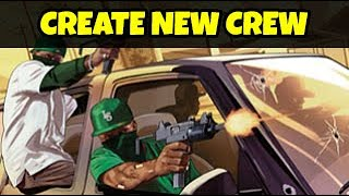 This is a short guide how to create crew for you and your friends.step 1: go rockstar social club https://socialclub.rockstargames.com/step 2: login in...