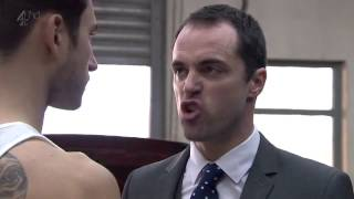 Hollyoaks Joe punches Dr Browning