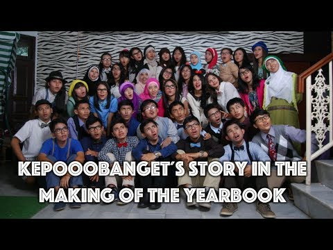 Kepooobanget´s story in the making of the Yearbook - SMAN 48 2013