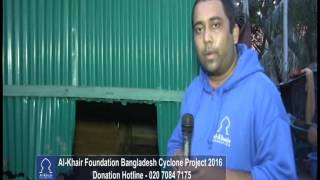 AL KHAIR FOUNDATION - CYCLONE ROANU HELP BANGLADESH DISTRIBUTION 06