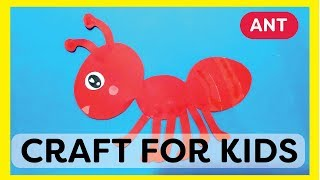 Ant Craft for Kids
