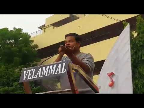 Indian Film Composer SHRI MOHAMAAD GHIBRAN @ VELAMMAL ECAYLP in Mugappair CHENNAI