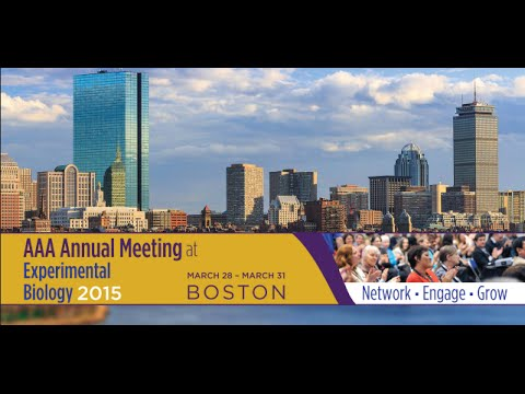 2015 AAA Annual Meeting at Experimental Biology