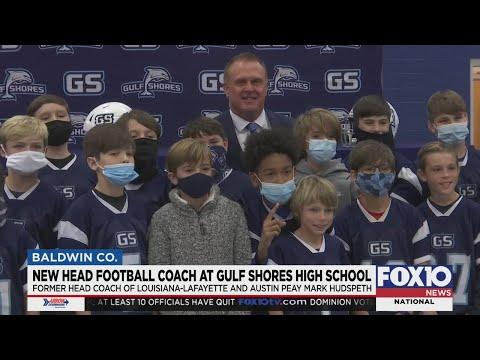 New head football coach at Gulf Shores High School