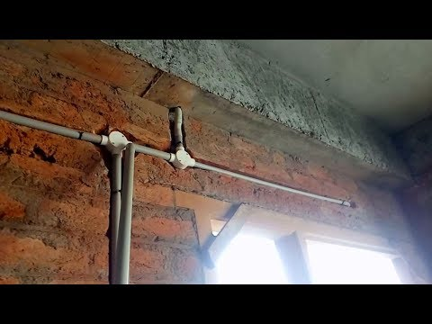 How to do Wall Pipeing in House Wiring | House wiring | Electrical Wall Pipeing House Wiring