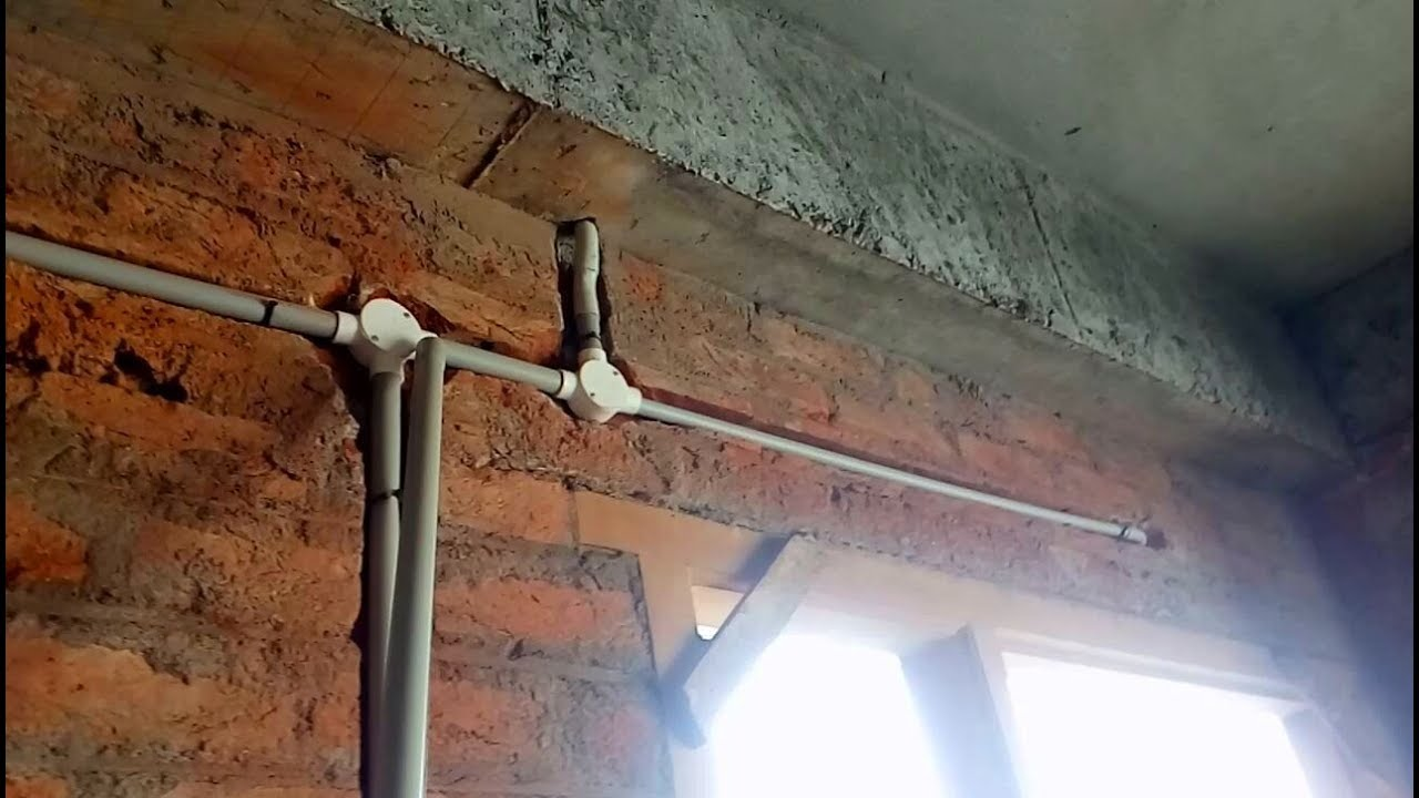 how to do wall pipeing in house wiring house wiring electrical wall pipeing house wiring [ 1280 x 720 Pixel ]