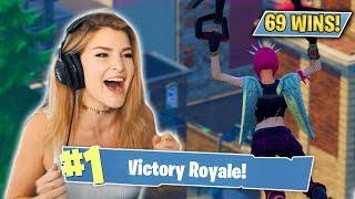 MY 69TH SOLO WIN! (Fortnite: Battle Royale) | KittyPlays