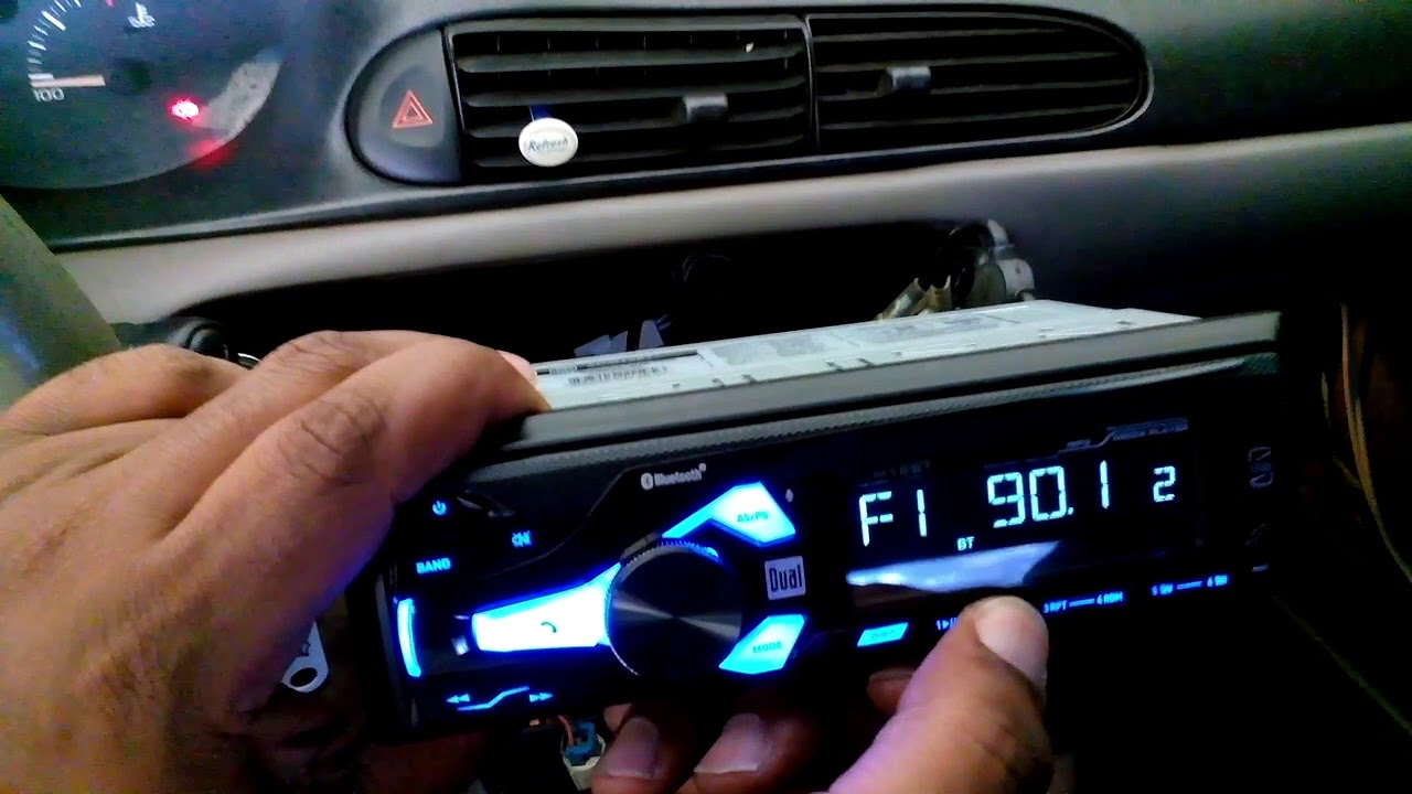20 dual bluetooth car stereo first look and install [ 1280 x 720 Pixel ]