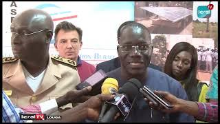 LOUGA - CRD De Lancement De la Mise En Oeuvre Du Projet D'Électrification De 300 Villages