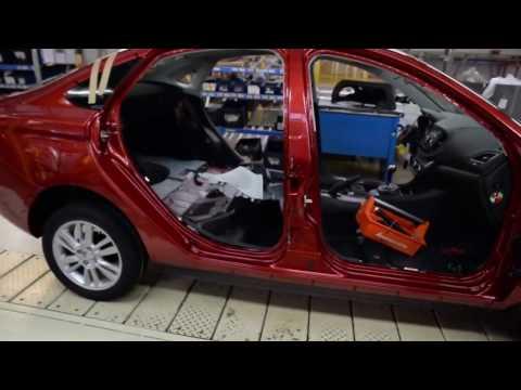 Így gyártják a Lada Vestát (2017)