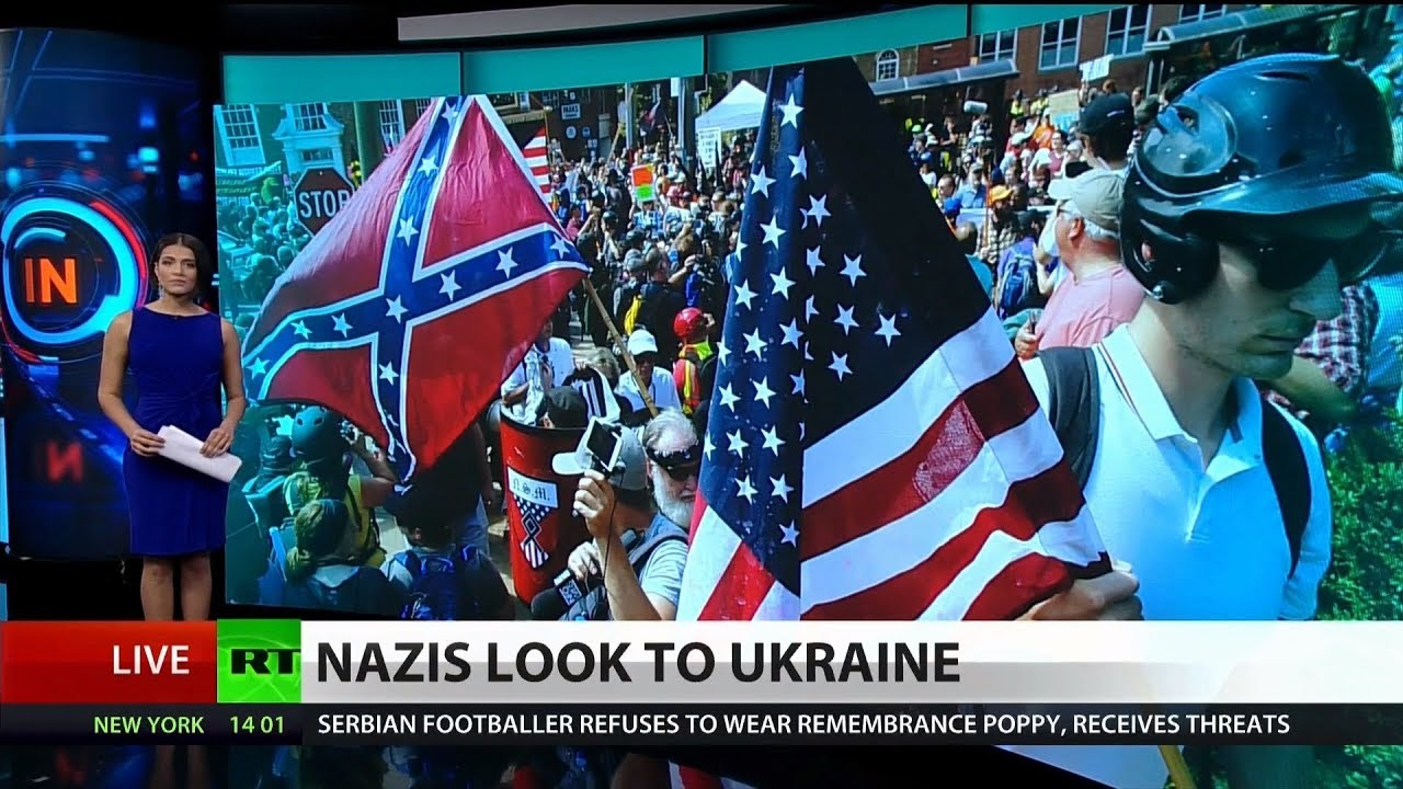 FBI: Ukrainian Nazis Train US White Supremacists