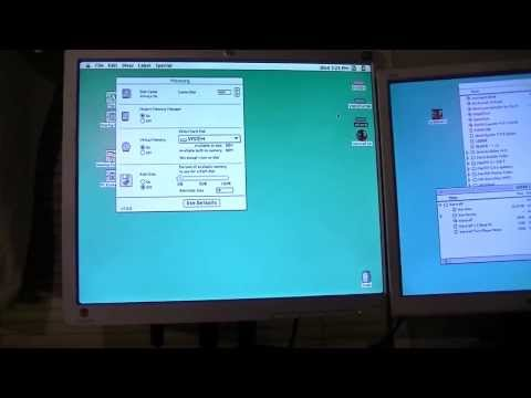 Apple Power Macintosh 8100 / 110  Disassembly and Startup