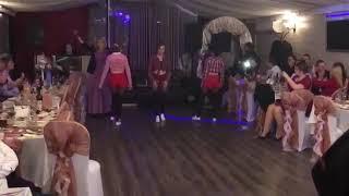 Танец подружек невесты на свадьбе