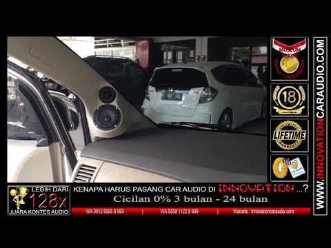 "Paket audio mobil Innova | Sub dalam dashboard 8"" | Innovation car audio Jakarta"