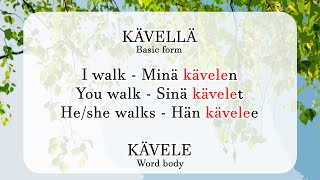 Aura's Finnish Lesson 2 part 2: The Word Body