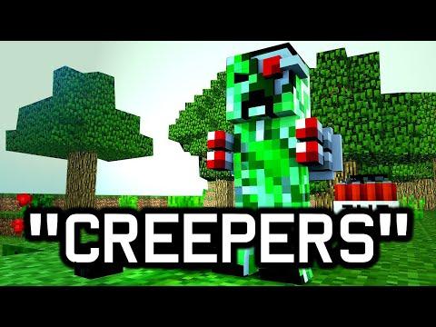 "♬ ""Creepers"" - Minecraft Parody of ""Heathens"" by Twenty One Pilots"