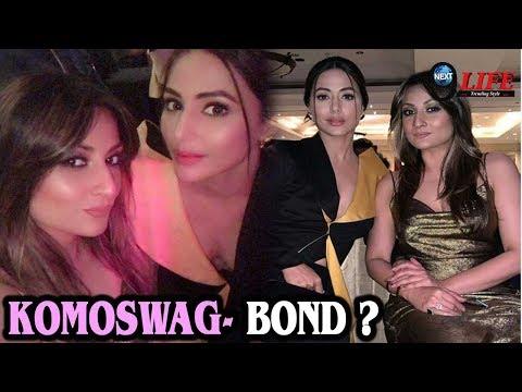 Kasauti Zindagi Kay Fame Komolika Aka Hina Khan और Urvashi Dholakia का Real Bond आया सामने…|